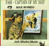 Max Romeo - Fari - Captain Of My Ship (Jah Shaka Music) LP